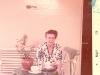 Minha avó Alice no balanço - anos 70