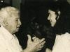 Mônica Simões e Jorge Amado, 1991