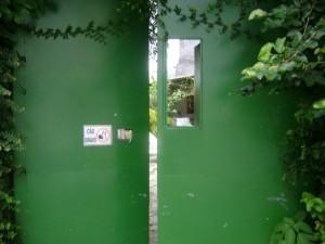 Portão da casa do Boulevard. Fotografia: Mônica Simões, 2008