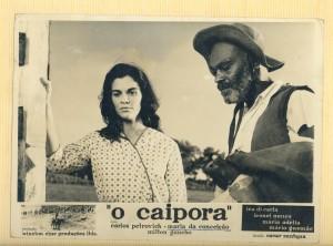 Maria Moniz no filme O Caipora, 1963.